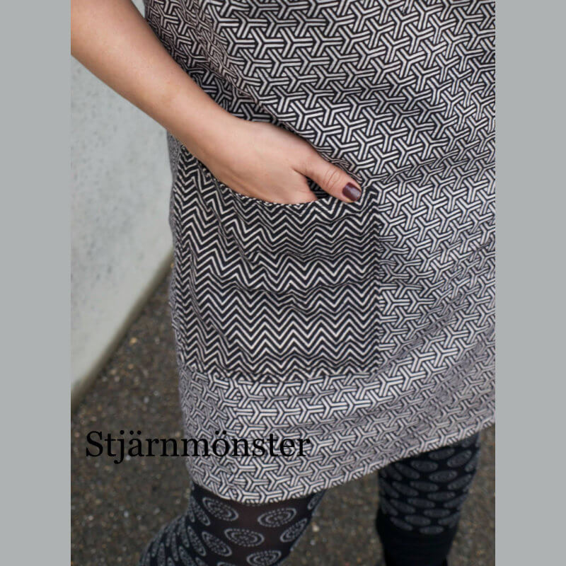 Ella Kleid aus Blockprint