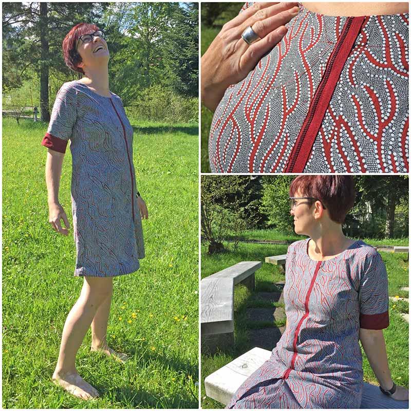 Kleid australischer Aborigine Stoff