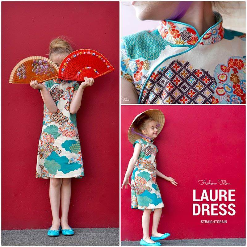 Kinderkleid japanischer stoff
