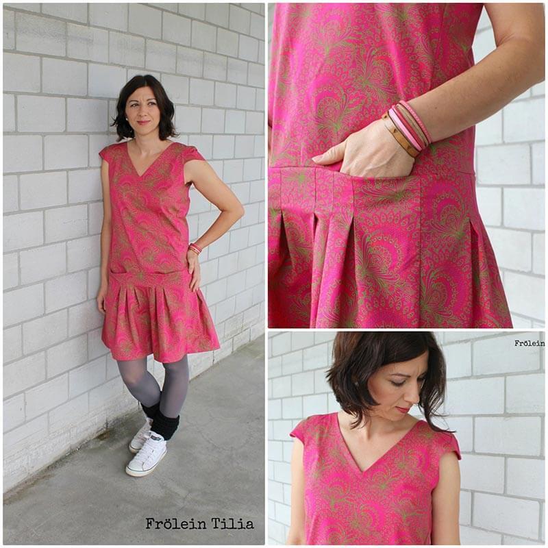 Kleid Ella afrikanischer shweshwe