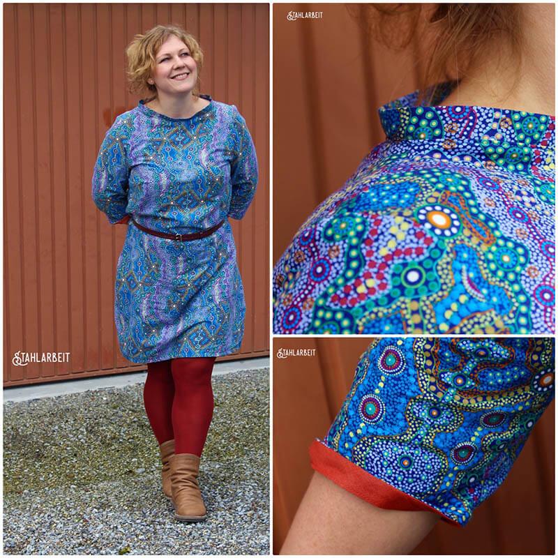 Kleid Ella australischer stoff