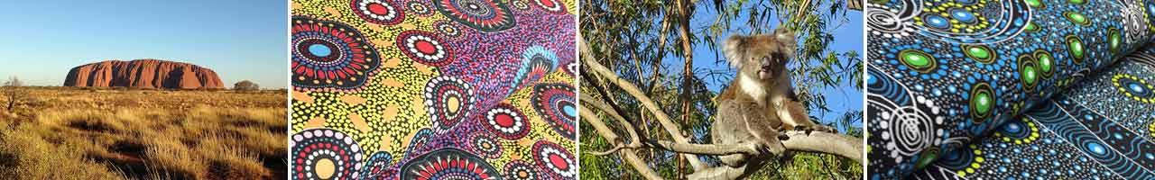 australische aborigines stoffe