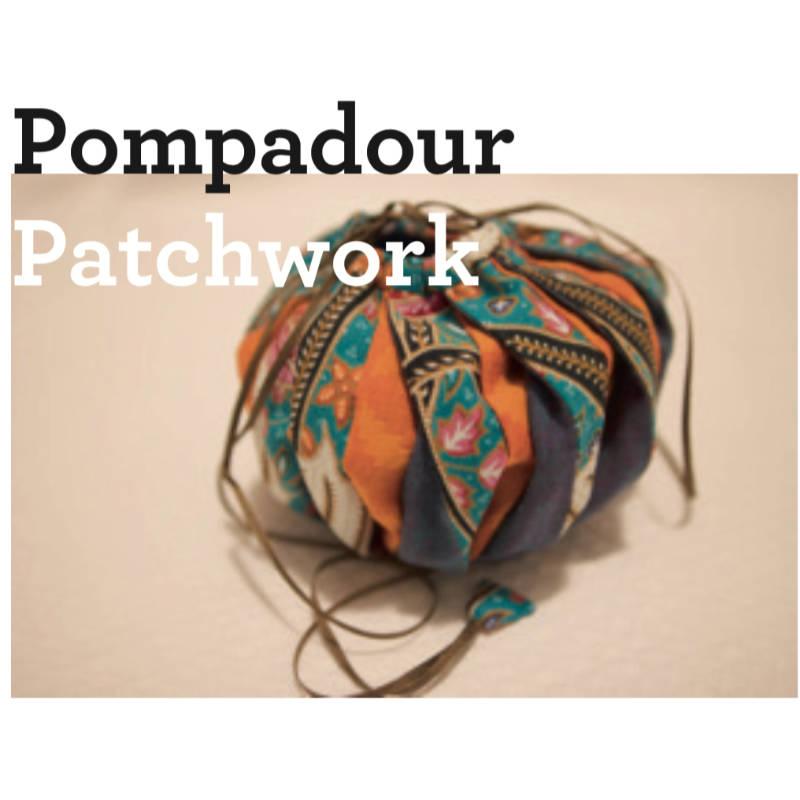 patchwork beutel pompadour Anleitung freebie